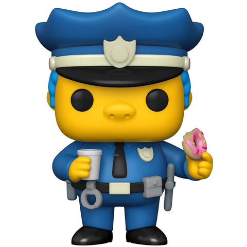 POP Animation Simpsonos - Chief Wiggum figura