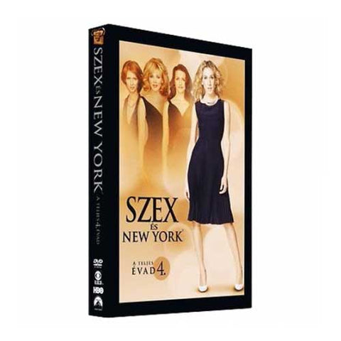 Szex és New York 4. évad (DVD)