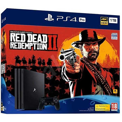 PlayStation 4 PRO 1TB Konzol Red Dead Redemption 2 szoftverrel -  PS4