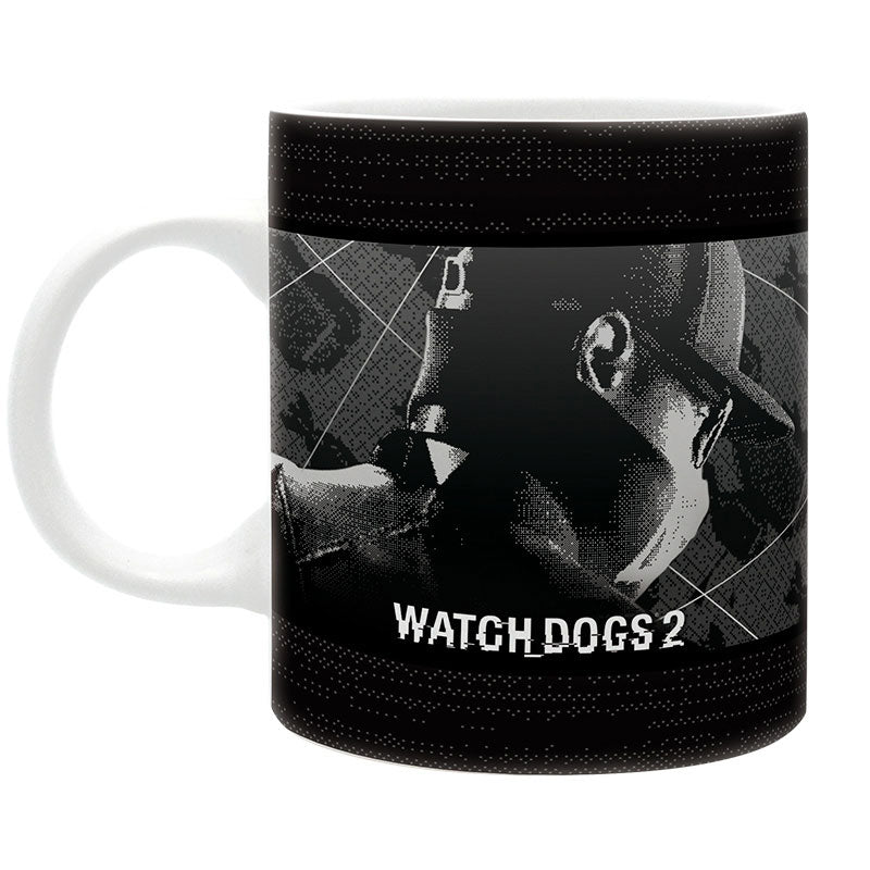 WATCH DOGS 2 bögre (320ml)