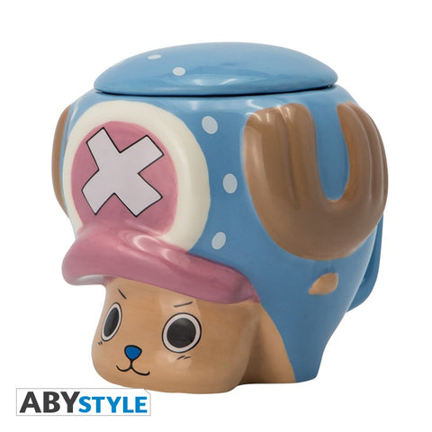 ONE PIECE Chopper 3D bögre (320 ml)