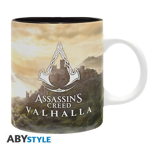 ASSASSIN'S CREED Valhalla tájkép bögre (320 ml)