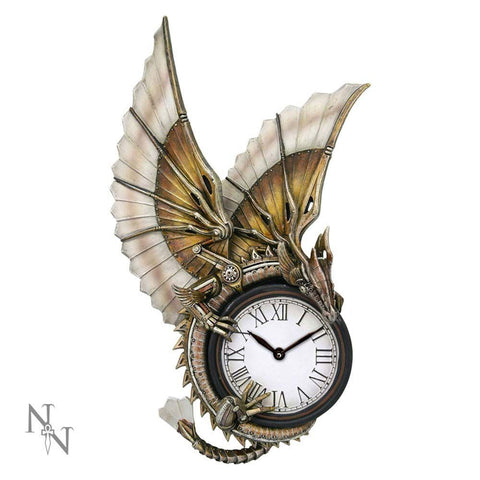 Clockwork Dragon falióra - 25cm - Anne Stokes