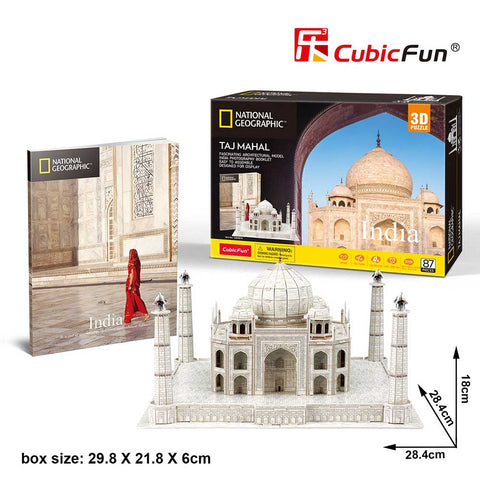 3D puzzle - City Travel Taj Mahal (87 db)