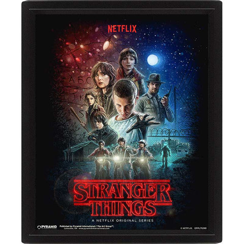 STRANGER THINGS 3D-s kép