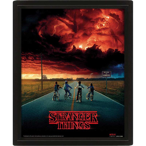 STRANGER THINGS - Mind Flayer 3D-s kép