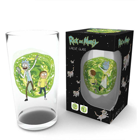 RICK AND MORTY Portal pohár (500 ml)