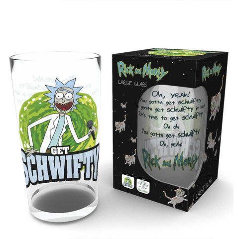 RICK AND MORTY Get Schwifty pohár (500 ml)