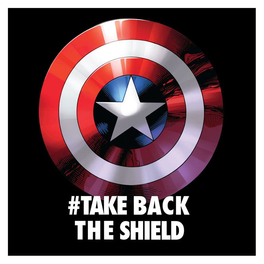 AMERIKA KAPITÁNY - TAKE BACK THE SHIELD - póló - MARVEL