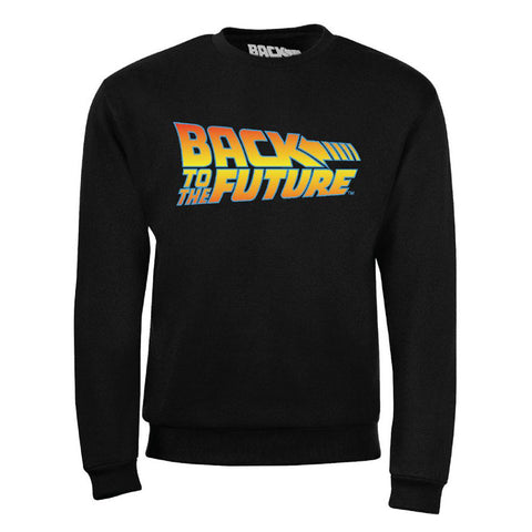BACK TO THE FUTURE - logo pulóver