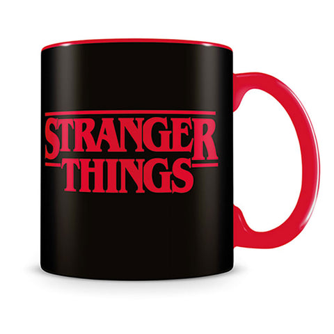STRAGER THINGS logo bögre (315 ml)