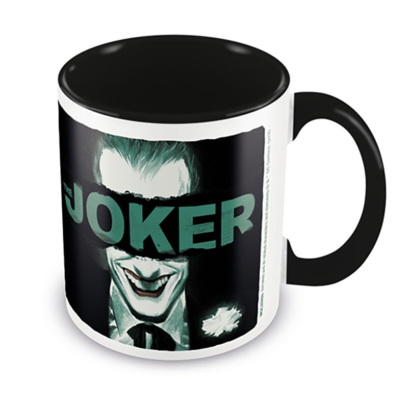 JOKER - Put on a Happy Face - fekete - bögre (315 ml)