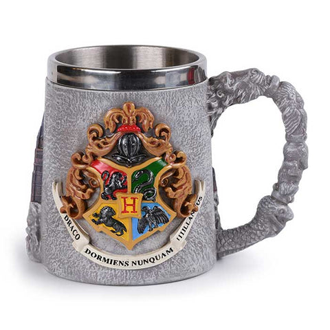 HARRY POTTER Roxfort polirezin söröskorsó (350 ml)