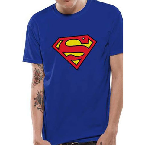 SUPERMAN - logo - póló