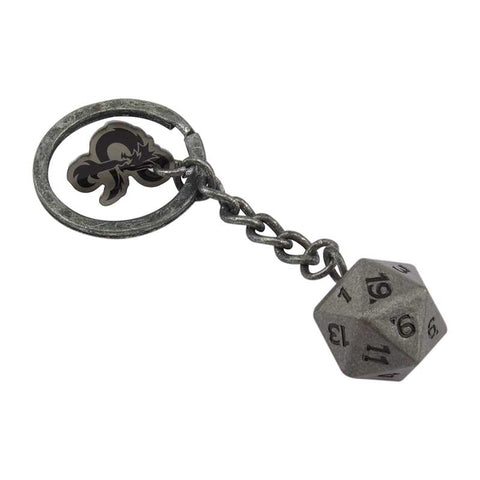 DUNGEONS AND DRAGONS D20 kulcstartó