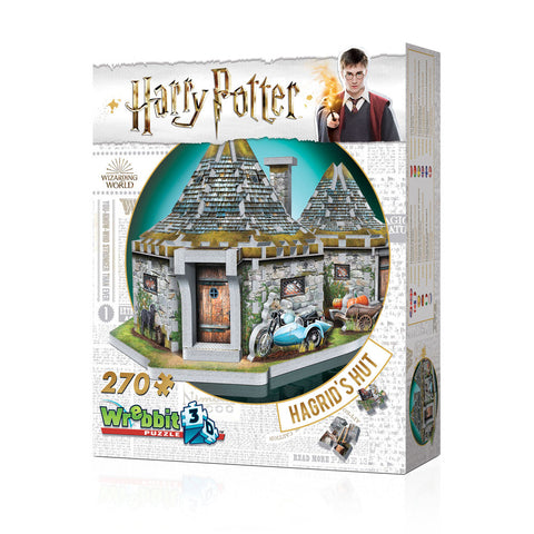 HARRY POTTE - Hagrid háza 3D puzzle (270 db)