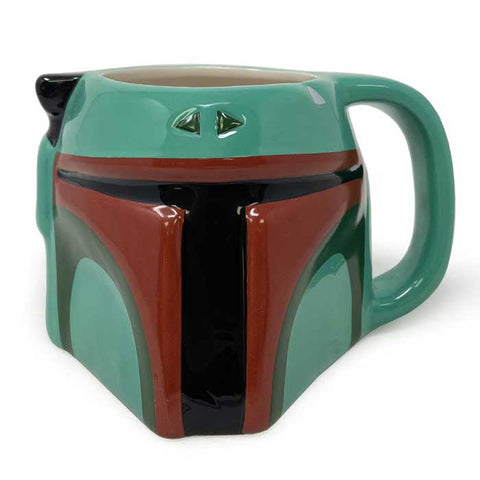 STAR WARS - Boba Fett 3D bögre (385 ml)