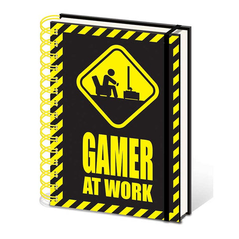 GAMER AT WORK jegyzetfüzet