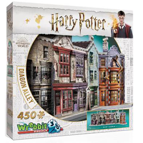 HARRY POTTER - Abszol út 3D puzzle