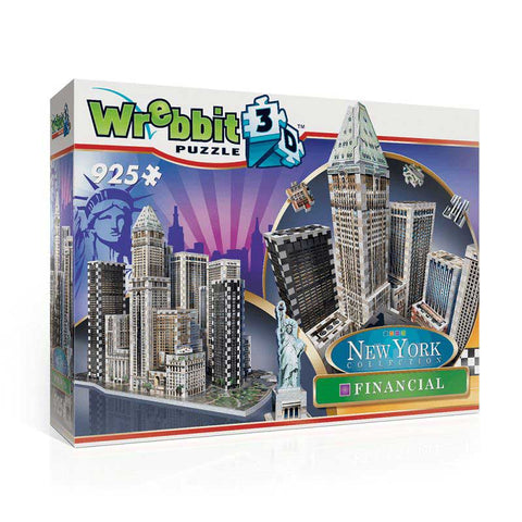 3D puzzle - New York Financial - dobozsérült