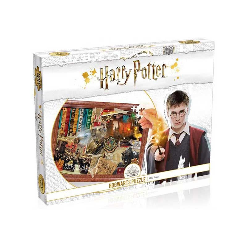 HARRY POTTER - Roxfort puzzle (1000 db)