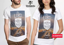Load image into Gallery viewer, Lord is my shield- Couple shirt