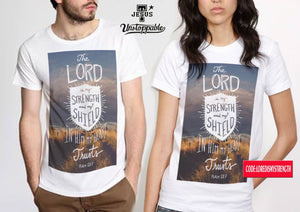 Lord is my shield- Couple shirt