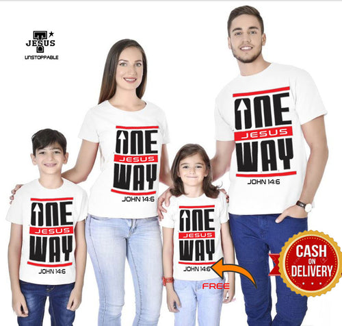 Buy Christian Family Shirt GET 1 FREE PLUS FREE CROSS BRACELET