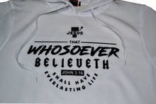Load image into Gallery viewer, Trending Christian Hoodie. John 3:16.Enjoy Free Shipping Today.C.O.D.