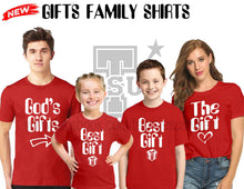Load image into Gallery viewer, Buy The Gifts Family Shirt GET 1 FREE