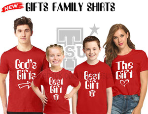 Buy The Gifts Family Shirt GET 1 FREE