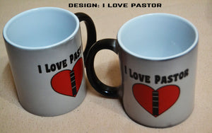 Buy 2 Magic Mug Amazing Gift For All Occasions. Honoring  A Pastor