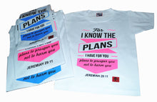 Load image into Gallery viewer, Buy Christian Family Shirt Set of 3, Get 1 Free Kid Shirt.FREE CROSS BRACELET