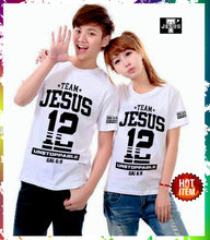 Load image into Gallery viewer, Matching Team Jesus Tee.Best Christian Couple Shirt In Town