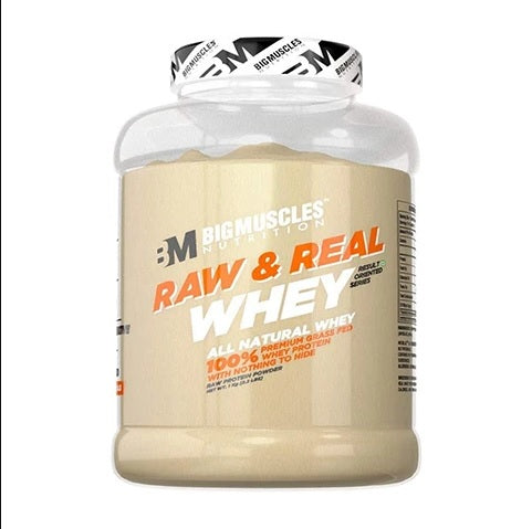 Bigmuscles Nutrition Raw & Real Organic Whey Protein (2kg)