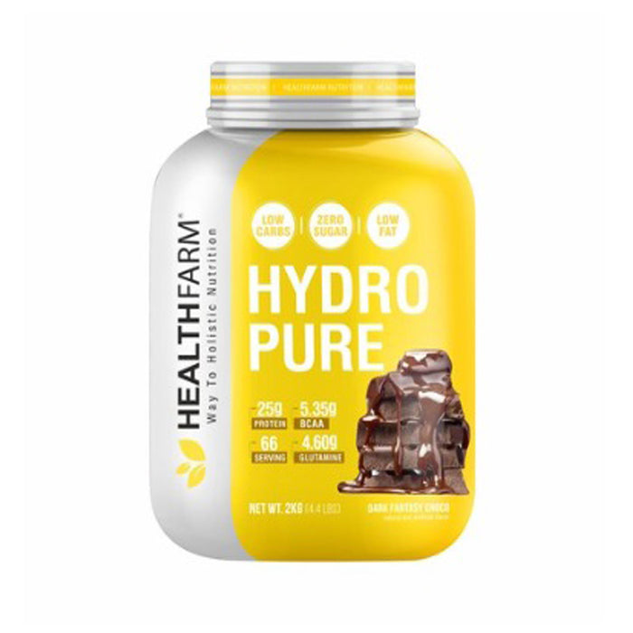 HEALTHFARM HYDRO PURE (2 KG/4.4 LBS,Dark Fantasy Chocolate)