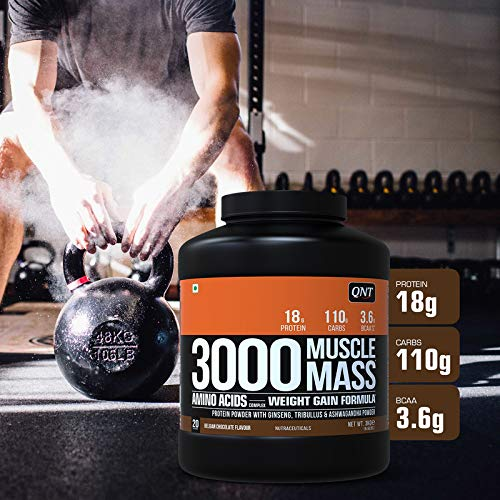 QNT Muscle Mass 3000 Mass Gainer