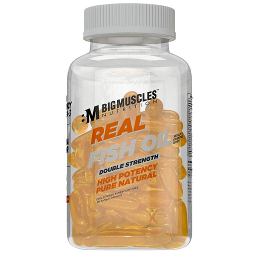 BigMuscle REAL FISH OIL : DOUBLE STENGTH