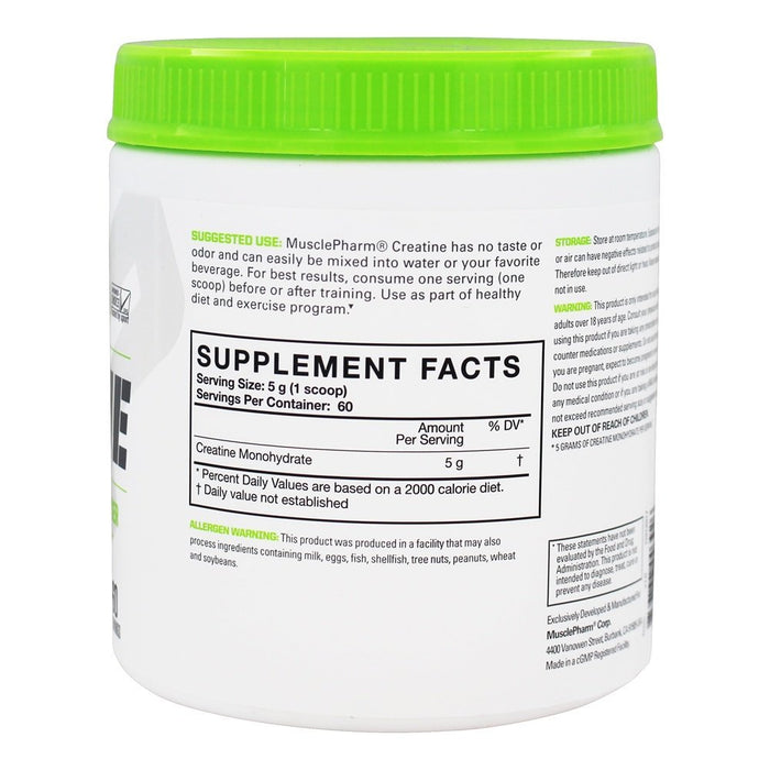 MUSCLE PHARM - CREATINE - 300GMS (60 Serving)