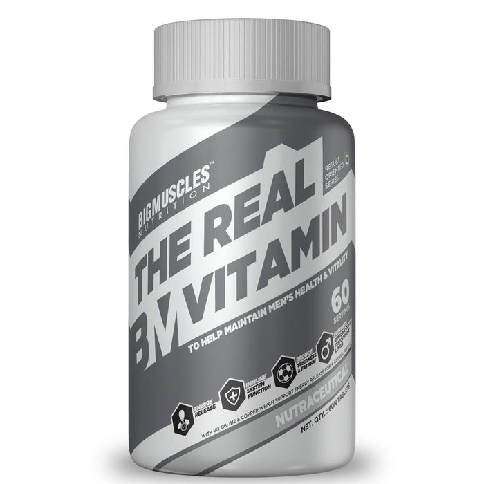 Bigmuscles Nutrition The Real Vitamin 60 Tablets