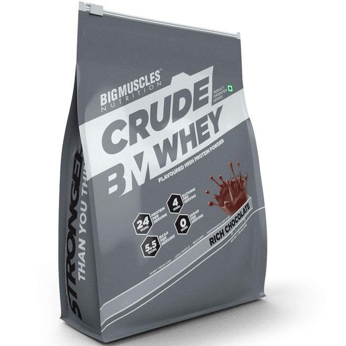 Bigmuscles Nutrition Crude Whey  Serving 1