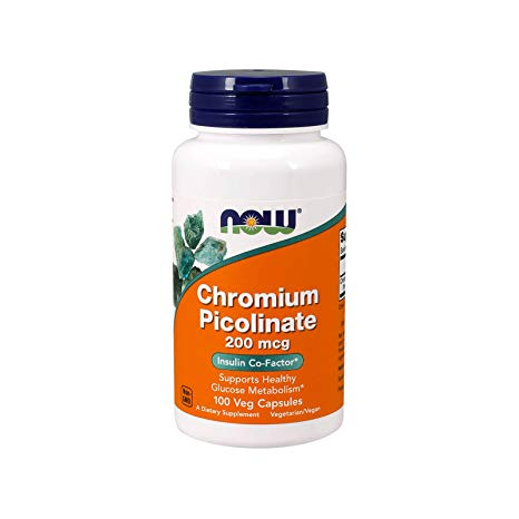 NOW-CHROMIUM PICOLINATE-100 Capsules