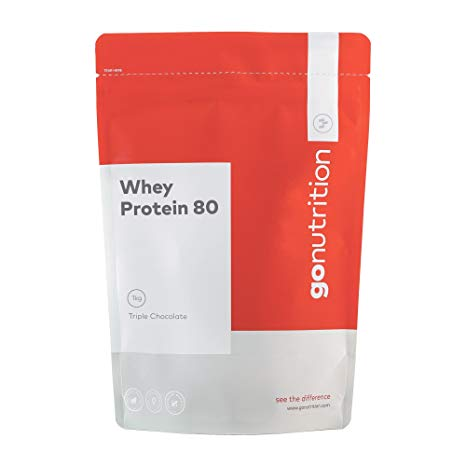 Gonutrition Triple Chocolate Whey Protein 80 Powder (2.5 Kg)