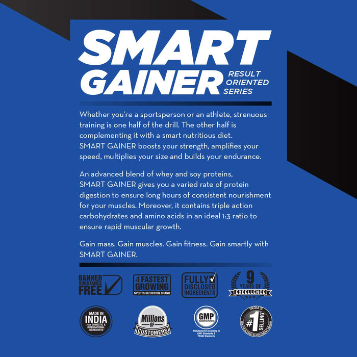Bigmuscles Nutrition Smart Gainer
