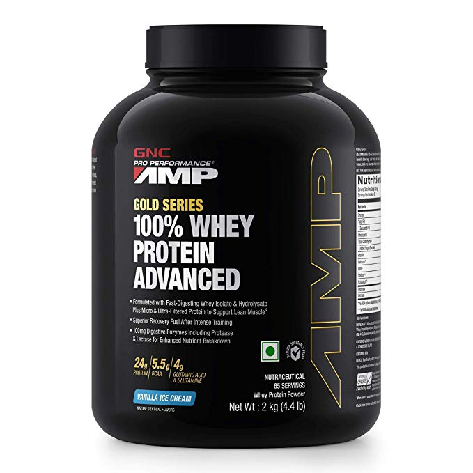 GNC-AMP_Gold Serious 100% Whey Protein Advanced, 4.4 lbs, 2 KG