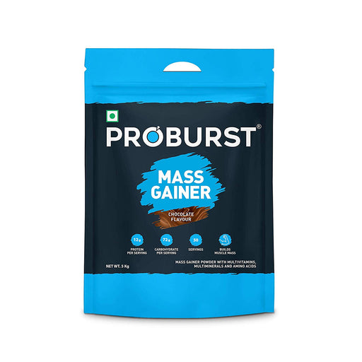 Proburst Mass Gainer Chocolate 5 Kg