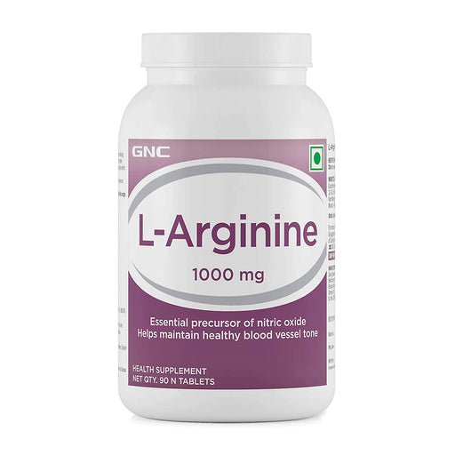 GNC L-Arginine 1000 mg (90 Tablets)