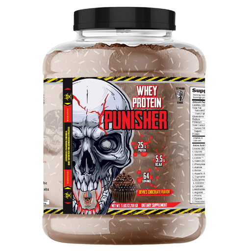 Terror Labz Punisher Whey Protein (5LbS)