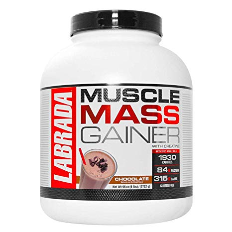 Labrada Muscle Mass Gainer Net Wait (96oz)  Serving (341g)