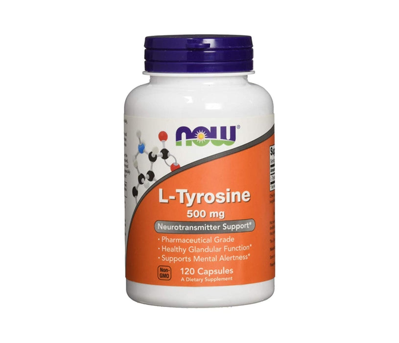 Now L-Tyrosine, 500mg